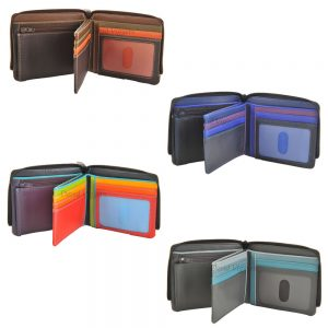 Mywalit Zip Around 7 Card Coin Purse Wallet 115