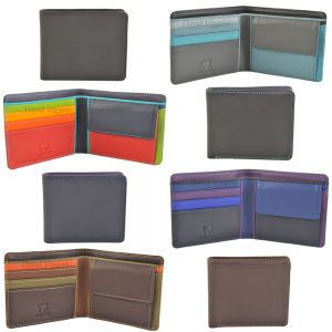 Mywalit Standard Leather 3 Card Coin Purse Wallet 138
