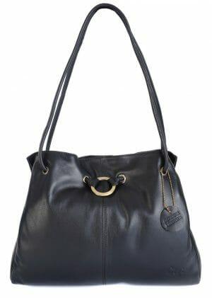 Gigi Othello Leather 3 Section Shoulder Handbag 4323