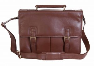 Visconti Large Leather Business Briefcase 15118