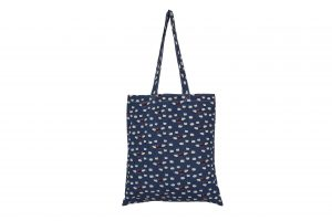 Peony Cotton Sheep Design Shopper B-2002