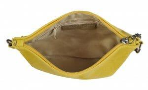 DV Fashions Small Italian Leather Clutch Shoulder Evening Bag DV-3
