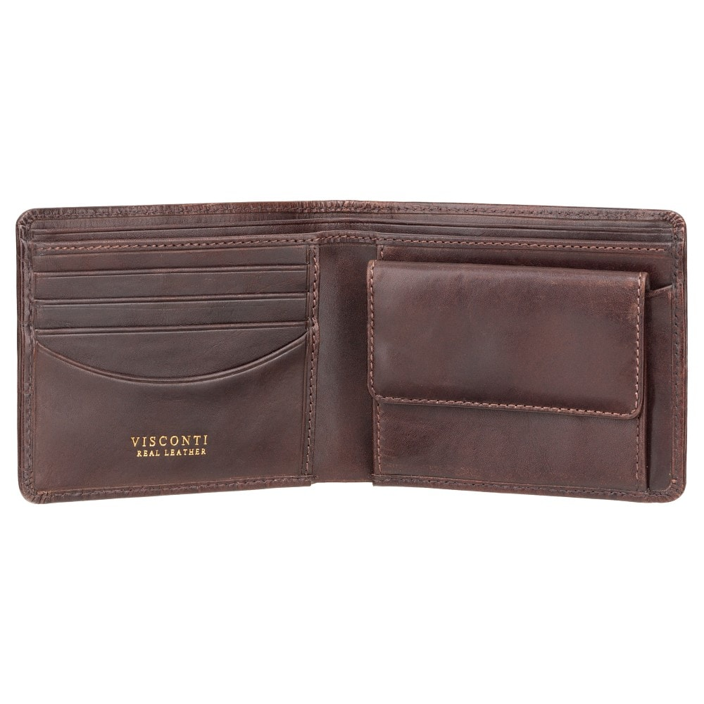 Visconti RFID Men's Gift Boxed Leather Wallet CR93
