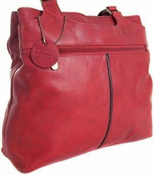 Gigi Othello Leather Two Section Shoulder Bag-Various Colours – 544