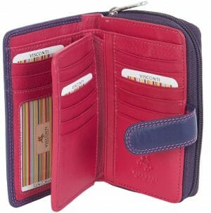 Visconti Soft Leather 16 Card Womens Purse Gift Boxed CD22