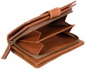 Gianni Conti Italian Leather Womens Purse 918086