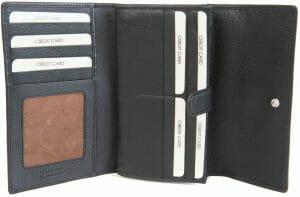 Gianni Conti Fine Italian Leather Travel Passport Wallet 588309