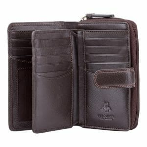 Visconti Soft Leather 18 Card Holder Purse HT33