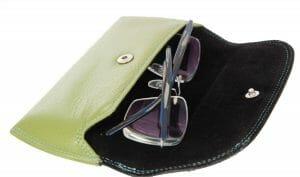 Golunski Graffiti Two-Tone Leather Glasses Case 7-173