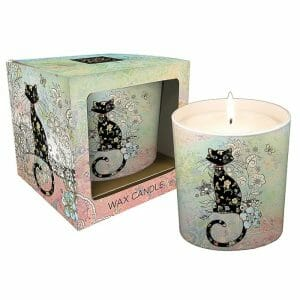 D V Fashions Bug Art China Candle Holder Gift Boxed DV11