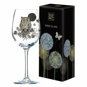 D V Fashions Bug Art Decorative Wine Glass Gift Boxed  DV 10