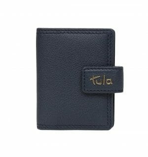 Tula Originals Small Leather Credit Card Holder 12713