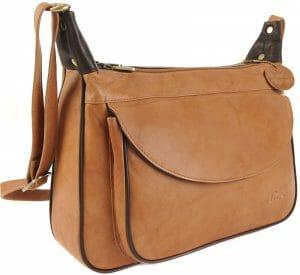 GIGI Othello Leather Shoulder Crossbody Handbag Bag 22-17 Various Colourways