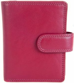 Visconti Small Soft Leather Zip Around Purse In Four Colourways  HT31