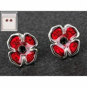 DV Fashions Equilibrium Poppy Stud Earrings DV134