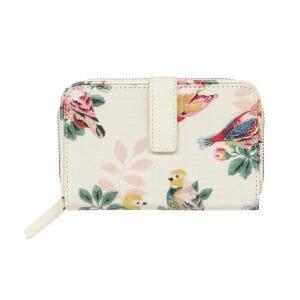 Cath Kidston Spring Warm Cream Folded Zip Wallet 830560