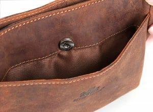 Rowallan Small Oil Tan Leather Crossbody Bag 8507