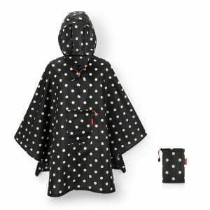 Reisenthel Mini Maxi Fold-Up Raincoat (poncho) One Size Fits All.