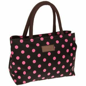 DV Fashions Polka Dot Oil Cloth Grab Bag 3 Colourways