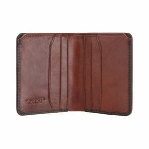 Visconti Atelier Mens Burnished Tan Leather Wallet AT56